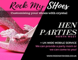 Crystal Shoe Party with Nicky Rox