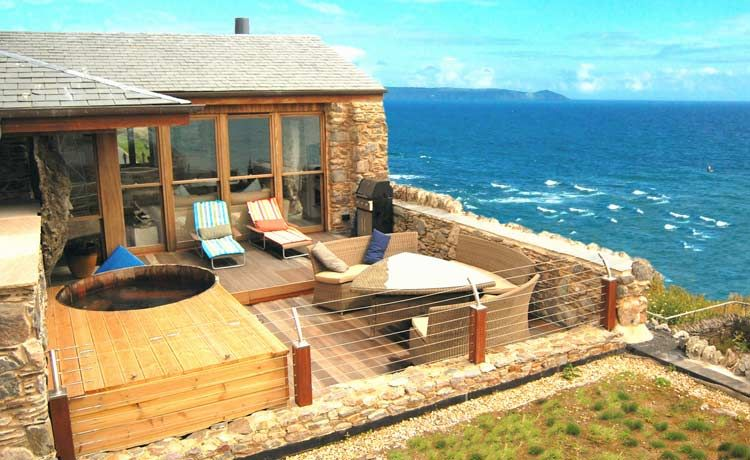 Surprising Beach House Cornwall Self Catering Cottage For Hen Parties Download Free Architecture Designs Terstmadebymaigaardcom